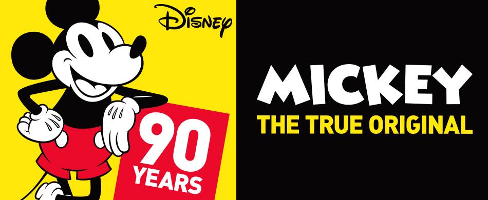 ディズニー 90周年