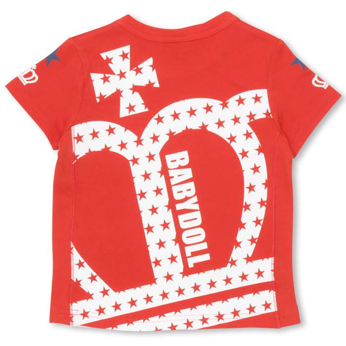 5b54bf95ca757 5 21一部再販 通販限定 50%OFF アウトレットSALE 斜め王冠Tシャツ 9531K ...
