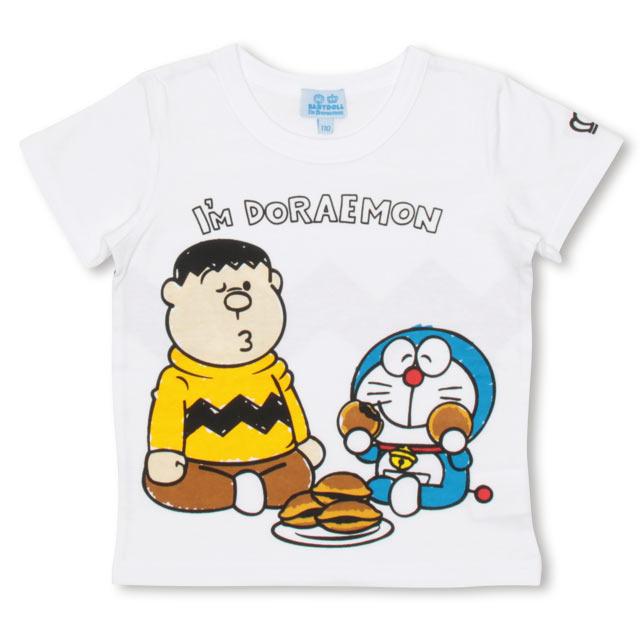 9b7d02655fccc NEW ドラえもん キャラクターTシャツ 2286K(90cm ホワイト)  トップス ...